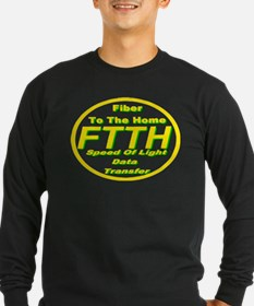 FTTH (Fiber to the Home) Long Sleeve T-Shirt