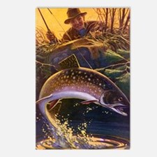 Vintage Fish, Fisherman F Postcards (Package of 8)