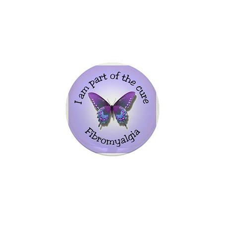 Fibromyalgia Awareness Mini Button (10 pack)