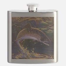 Vintage Fishing, Trout Fish Flask