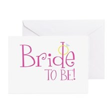 Bride To Be Greeting Cards (Pk of 10)