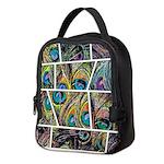 Peacock Cartoon - Neoprene Lunch Bag