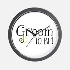 Groom To Be Wall Clock