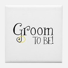 Groom To Be Tile Coaster