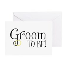 Groom To Be Greeting Cards (Pk of 10)