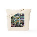 Peacock Cartoon - Tote Bag
