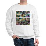 Peacock Cartoon - Sweatshirt