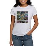 Peacock Cartoon - Women's T-Shirt