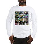 Peacock Cartoon - Long Sleeve T-Shirt