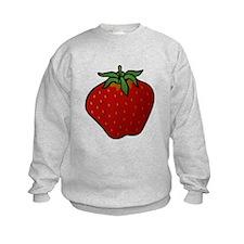 Red Strawberry Sweatshirt