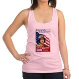 Star spangled Womens Racerback Tanktop
