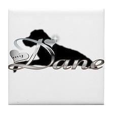 Love my Dane Tile Coaster