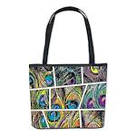 Peacock Cartoon - Bucket Bag