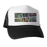 Peacock Cartoon - Trucker Hat