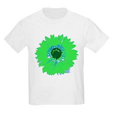 Lime Flower Kids T-Shirt