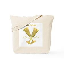 Champagne Groom Tote Bag