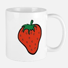 Red Strawberry Mugs