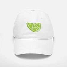 Lime Slice Baseball Baseball Cap