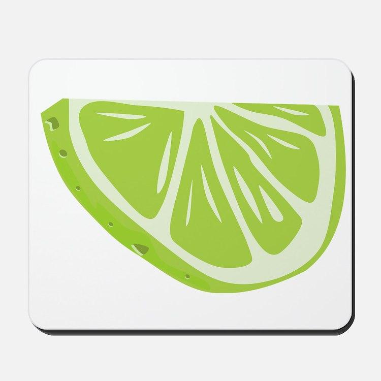 Lime Slice Mousepad