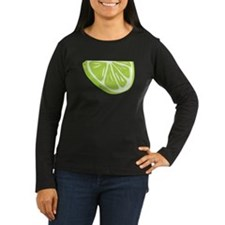 Lime Slice Long Sleeve T-Shirt