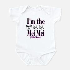 I'm Mei Mei Panda Infant Bodysuit