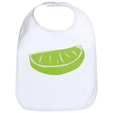 Lime Wedge Bib