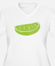 Lime Wedge Plus Size T-Shirt