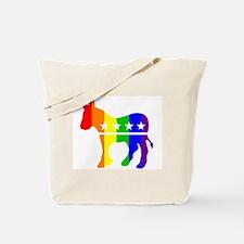 Democratic Pride Tote Bag