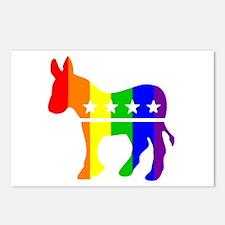 Democratic Pride Postcards (Package of 8)