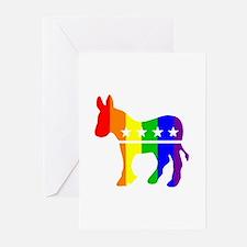 Democratic Pride Greeting Cards (Pk of 10)