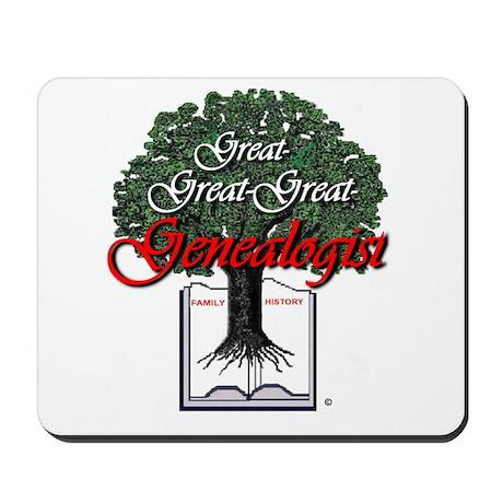 Great Genealogist Mousepad