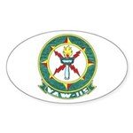 VAW 115 Sentinels Oval Sticker