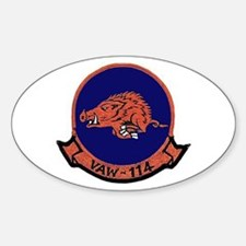 VAW 114 Hormel Hogs Oval Decal