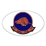 VAW 114 Hormel Hogs Oval Sticker
