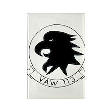 VAW 113 Black Eagles Rectangle Magnet