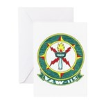 VAW 115 Sentinels Greeting Cards (Pk of 10)