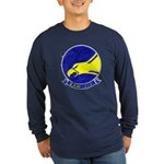 VAW 112 Golden Hawks Long Sleeve Dark T-Shirt