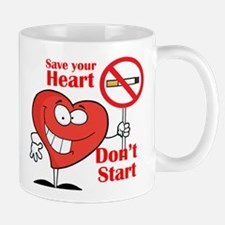 Save your heart, Dont Start Mugs