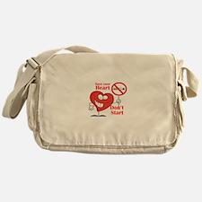 Save your heart, Dont Start Messenger Bag