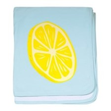 Lemon Slice baby blanket