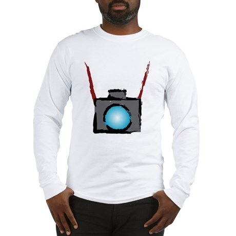 WTD: Camera On Long Sleeve T-Shirt