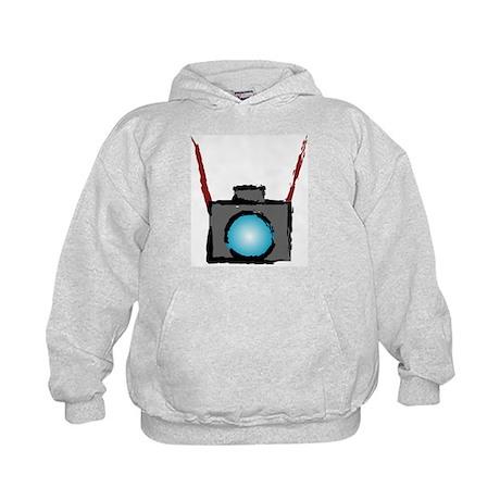 WTD: Camera On Kids Hoodie