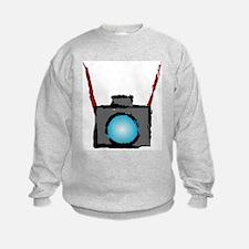 WTD: Camera On Sweatshirt