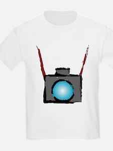 WTD: Camera On Kids T-Shirt