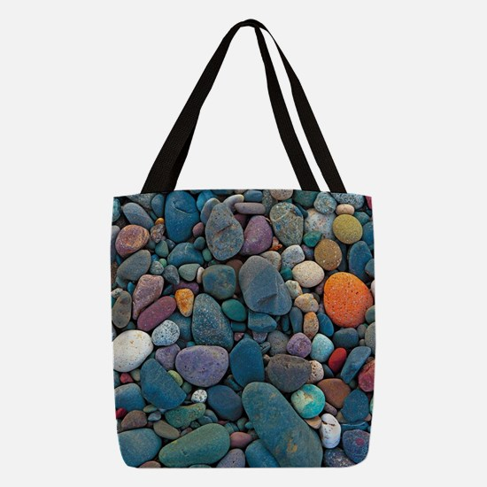 Beach Rocks 2 Polyester Tote Bag