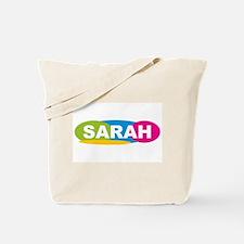 """Sarah Oval Colors"" Tote Bag"