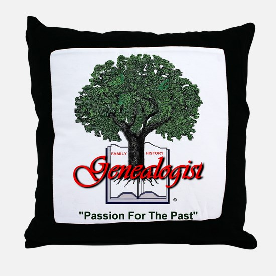 Passion For The Past Throw Pillow