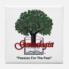Passion For The Past Tile Coaster