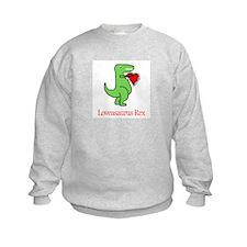Loveasaurus Rex Sweatshirt