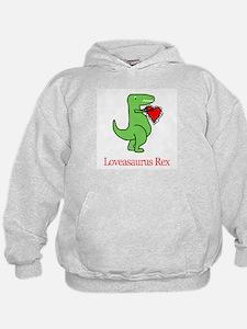 Loveasaurus Rex Hoodie